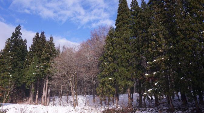 【雪の止んだ日に】