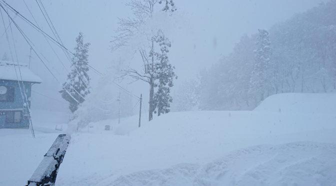 【大雪の日】