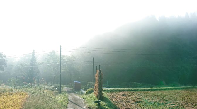 【秋の朝】