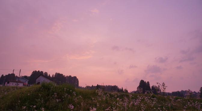 松之山カラー   〜夕暮れ〜